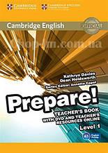 Cambridge English Prepare! 1 Teacher's Book with DVD and Teacher's Resources Online / Книга для учителя