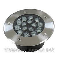 Светильник грунтовый GR-01 LED 15W  230V   размер  200мм*90мм  IP67   3000K, фото 2