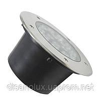 Світильник ґрунтовий QК-18 LED 18W 6000K 230V P65 розмір 200мм * 90мм, фото 2