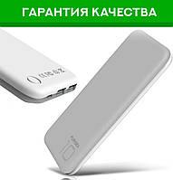 Puridea S2 10000 mAh Gray and White — Power Bank, Повербанк, Портативная зарядка, УМБ