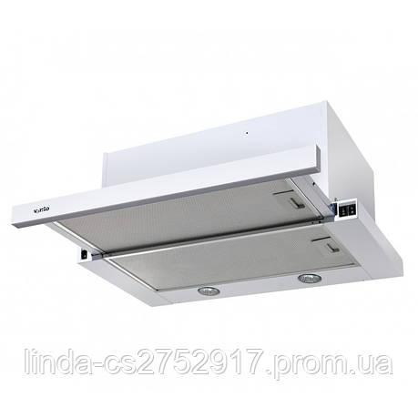 Кухонная вытяжка GARDA 60 WH (1000) EU VentoLux, фото 2
