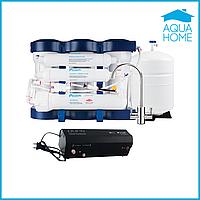 Фильтр обратного осмоса Ecosoft P`URE с минерализатором + помпа