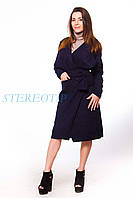 Женское пальто кашемировое без подкладки