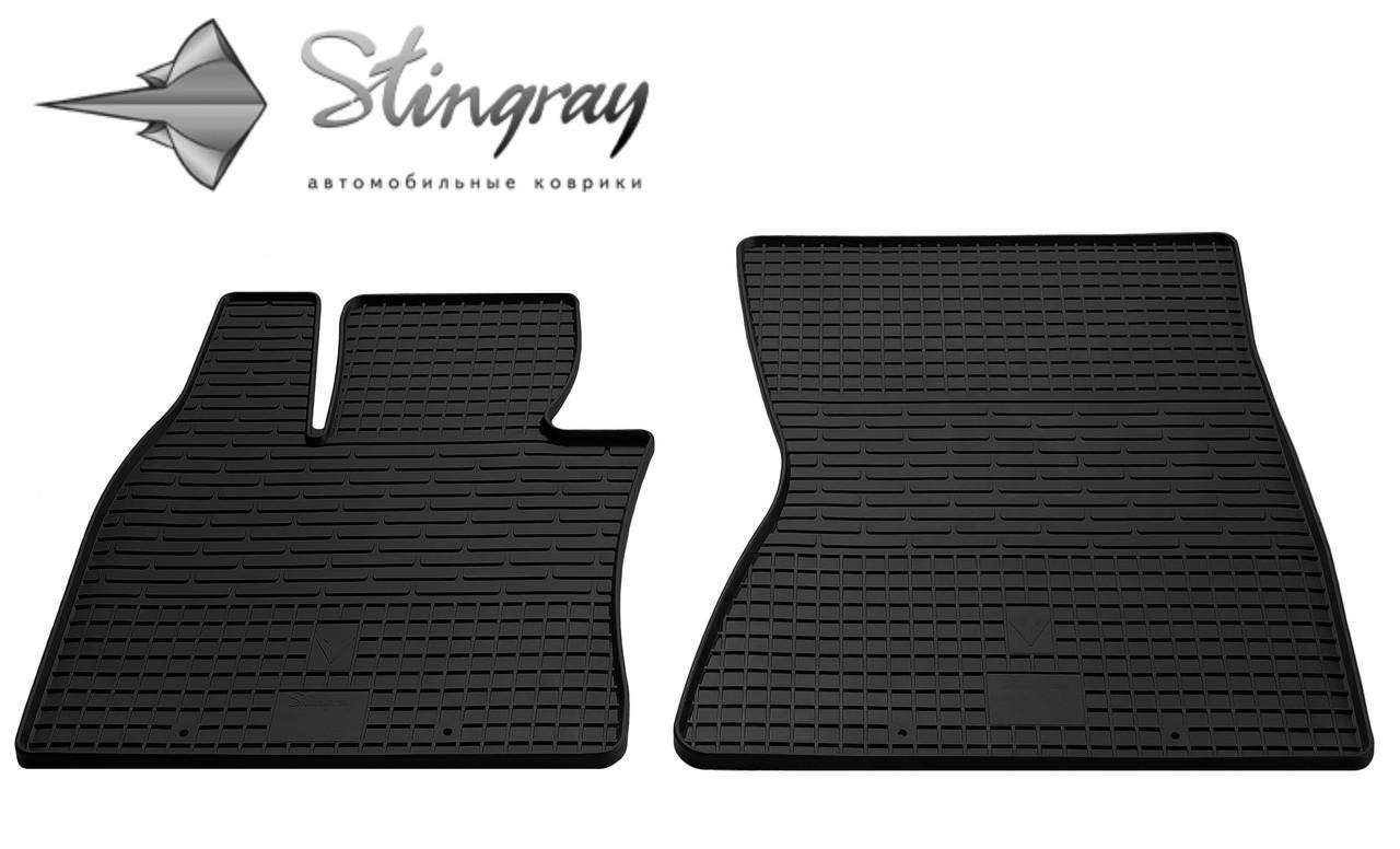 Килимки гумові БМВ Х5 Е70 2007-2012 Комплект из 2-х ковриков Черный в салон - Stingray® официальный магазин производителя резиновых автоковриков. в Львове