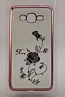 Чехол-накладка Beckberg Breathe seria for Samsung A520 (A5-2017) Rose