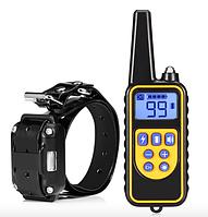 Ошейник электронный 800м. водонепроницаемый для дрессировки собак аккумулятор от USB Р-880 вилка С