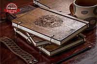 Блокнот А5. Скетчбук. Блокнот с деревянной обложкой. Деревянный блокнот