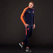 Штаны Nike FC Barcelona Dry Squad AA3518-451 (Оригинал), фото 3