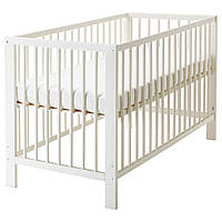 IKEA GULLIVER Детская кровать, белый  (102.485.19)