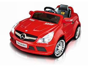 Эл-мобиль T-794 Mercedes SL65 AMG RED легковая на р.у. 6V7AH мотор 1*18W с MP3 123*68*53 ш.к. /1/