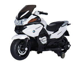 Эл-мобиль T-726 WHITE мотоцикл 6V7AH мотор 1*35W 125*60*65 ш.к. /1/