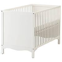 IKEA SOLGUL Детская кровать, белая  (903.624.12)