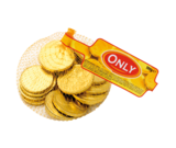 Шоколад молочный Euro Монеты Only  Австрия 100г