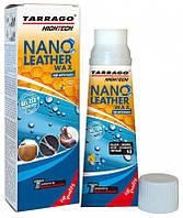 Крем тюбик с губкой NANO Leather WAX 75 мл цвет нейтральный (000)