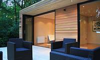 Садовый домик в современном стиле