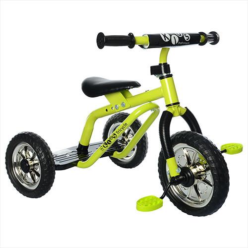 Трехколесный велосипед Profi Kids M 0688-4 для самостоятельной езды Green