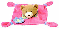 Игрушка платочек - медведь BINO
