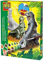 Набор для создания гипсовой фигурки Ses – T-Rex (01283S)