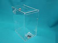 Ящик для пожертвований горизонтальный 210_300_150 мм