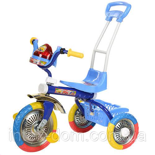Трехколесный велосипед Bambi  B 2-2 / 6011B  Голубой