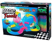 Светящаяся трасса Magic Tracks 236 с двумя петлями, 236 дет.