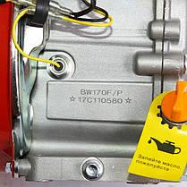 Двигатель бензиновый BULAT BW170F-Q (7 л.с., вал 19мм, шпонка), фото 2