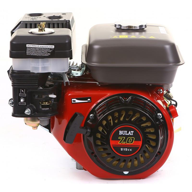 Двигатель бензиновый BULAT BW170F-Q (7 л.с., вал 19мм, шпонка)