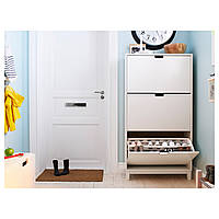 Шкаф для обуви STALL 79x148 см белый