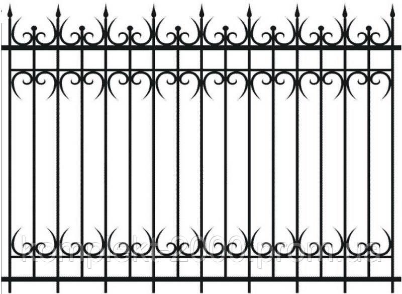 Красивые заборы из металла | Заборы и ограждения с установкой купить | Цена на железные заборы от изготовителя