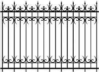 Красивые заборы из металла | Заборы и ограждения с установкой купить | Цена на железные заборы от изготовителя, фото 1