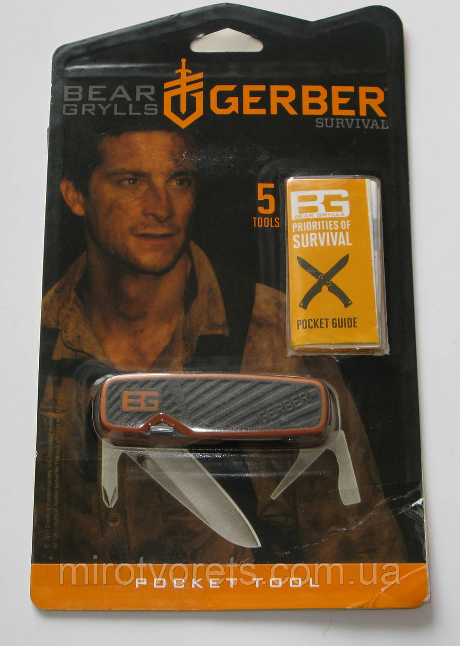 Нож - мультитул Gerber Bear Grylls survival