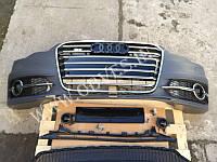 Передний бампер S6 на Audi A6 с 2011г.в.