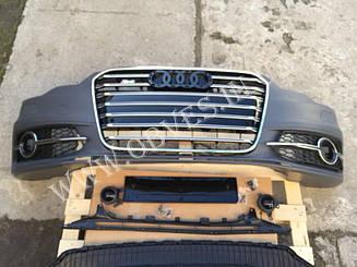 Передний бампер Audi A6 C7 2011-2014 стиль Audi S6