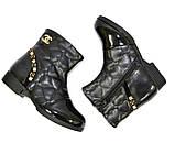 Ботинки демисезонные для девочки, черный цвет. Размер: 27,28, фото 8