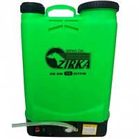 Аккумуляторный электрический опрыскиватель Zirka ОА-616С (53937) с солнечной батареей