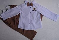 Костюм — котон 2-4 года. Штаны  с рубашкой Король Лион 1989