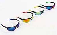Велоочки солнцезащитные Oklay 8870 (спортивные очки): 4 цвета
