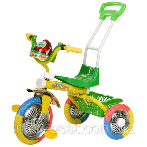 Трехколесный велосипед B 2-2 / 6011G (Зелёный)