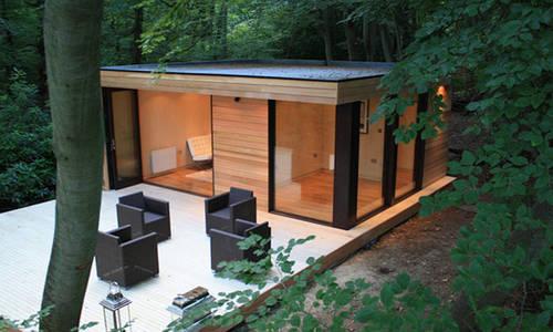 Современные деревянные домики