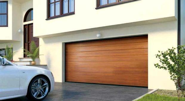 Автоматические гаражные ворота Алютех CLASSIC 2500х2200