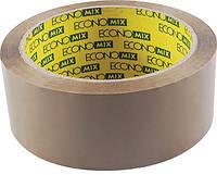 Скотч упаковочный 48мм*100м Economix E40816 коричневый