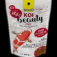 Корм TETRA (Тетра) KOI Beauty First гранулы для молодых карпов КОИ, 150 г