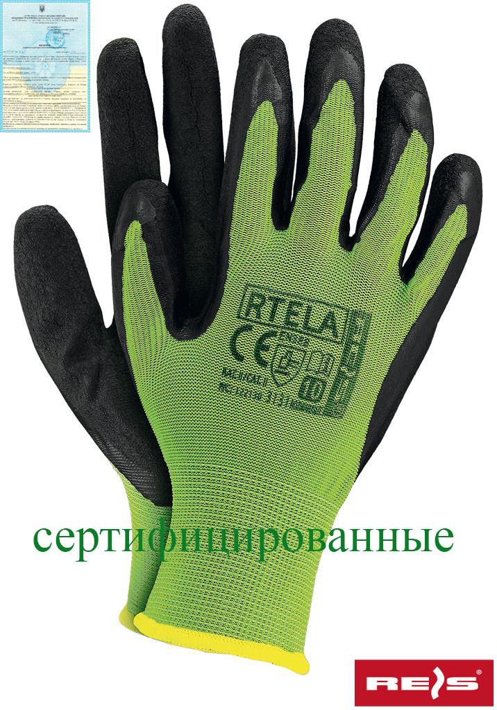 Рабочие перчатки RTELA LB - Спецгруп Львів в Львове