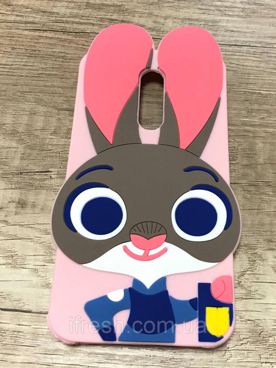 Чехол Джуди Хопс для XIAOMIRedmi Note 4, Зверополис pink