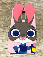 Чехол Джуди Хопс для XIAOMIRedmi Note 3, Зверополис pink