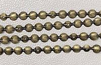 Гвоздевая лента (молдинг) для мягкой мебели, 11 мм диаметр, Цвет Бронза