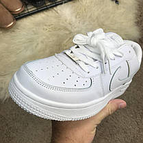 Nike Air Force 1 White, фото 3
