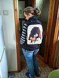 Джинсовый рюкзак КИСС 2, фото 8