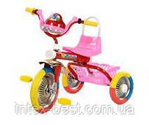 Трехколесный велосипед   Bambi B 2-1 / 6010P (Розовый)