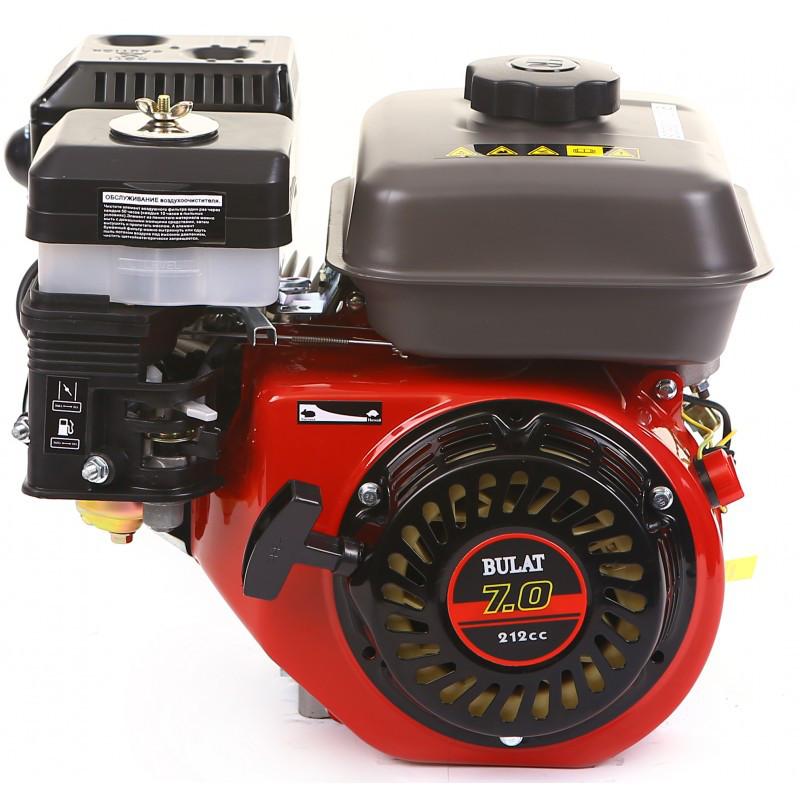 Двигатель бензиновый BULAT BW170F-T/20 (7 л.с., вал 20 мм, шлицы)